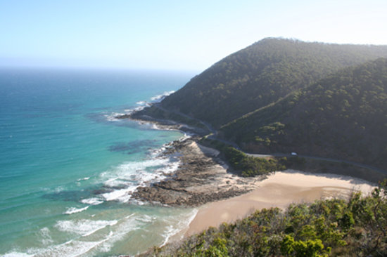 View from Teddys Lookout, Lorne