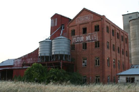 Corowa Old Flour Mill Ruin Picture Of Corowa New