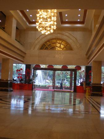 Long Hu Hotel: lobby area