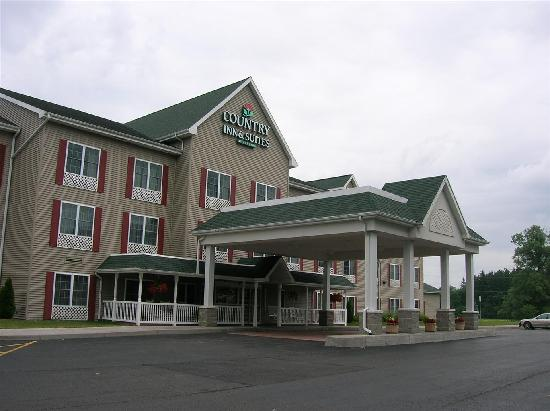 Cortland, État de New York : The hotel frontage