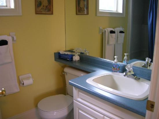 John's Gate Gourmet Bed and Breakfast: Our en-suite bathroom