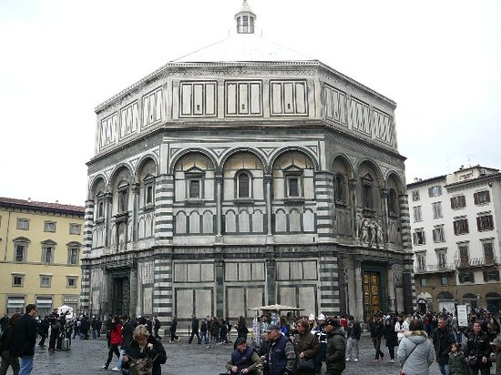Firenze, Italien: battistero