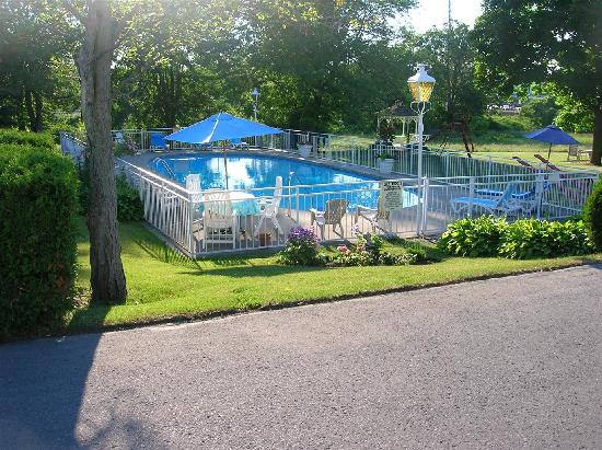 جرين أكريس إن: The pool