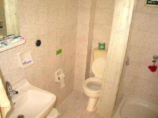 Stars Hotel: The bathroom