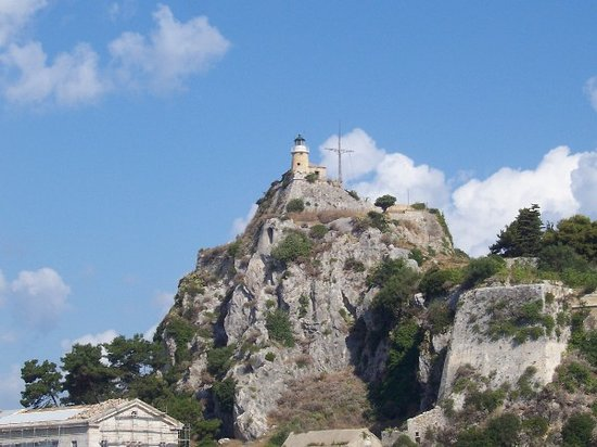 Corfu, Greece: nuovo forte