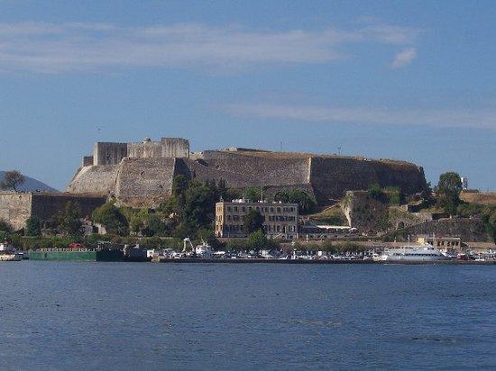 Corfú, Grecia: vecchio forte