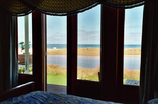 Apollo Bay Guest House: View of paradise from bedroom