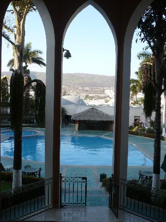 Holiday Inn Tuxtla Gutierrez: vue piscine