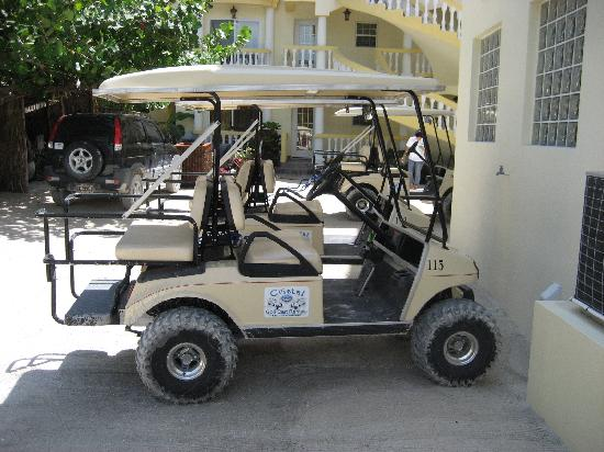 Pelican Reef Villas Resort : Golf Cart