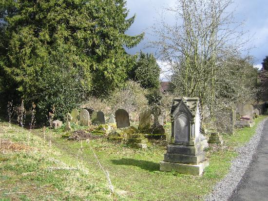 The Clive: Churchyard in Ludlow