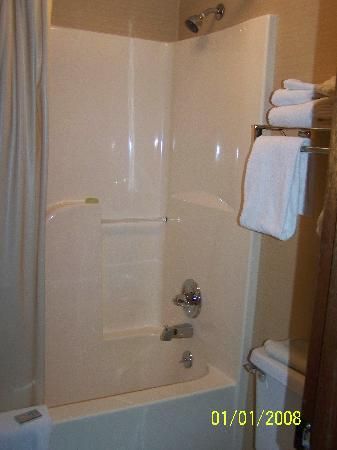 Park Tower Inn: Shower