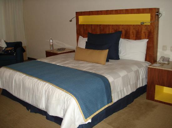 Real Inn Guadalajara Expo: Lo unico bueno, la cama es comoda