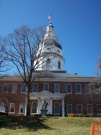 Annapolis, MD: The Maryland State House