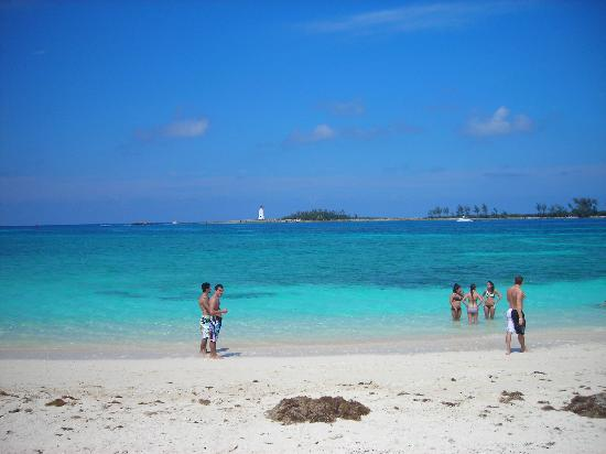 Picture From The Beach Junkanoo Beach Resort Nassau Tripadvisor