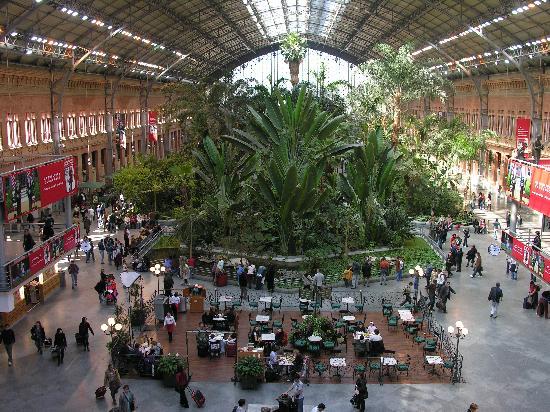 TRYP Madrid Atocha: Bahnhof Atocha - Madrid