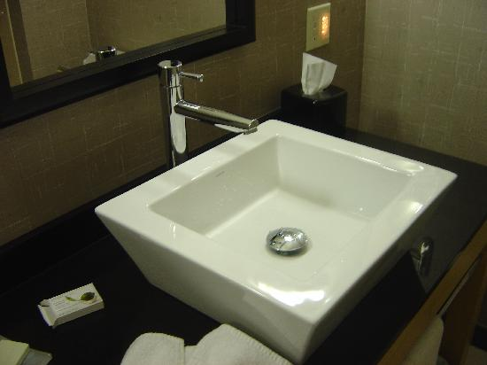 Cambria hotel & suites: Very unique sink