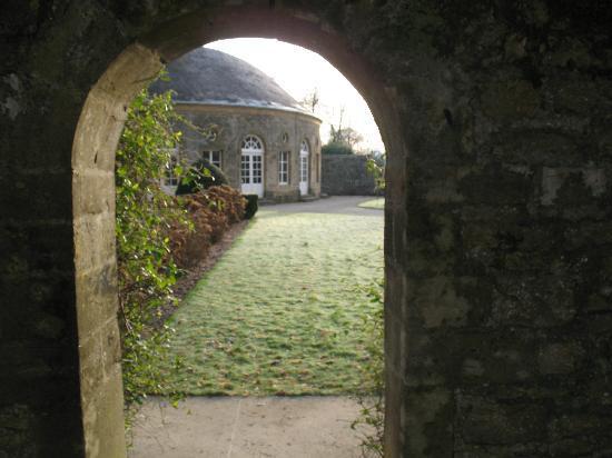 Le Château de Bazeilles : Avant de diner à l'Orangerie