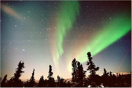 Chena Hot Springs Resort: northern lights 2