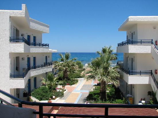 Kosta Mare Palace Hotel : Nice view from our balcony