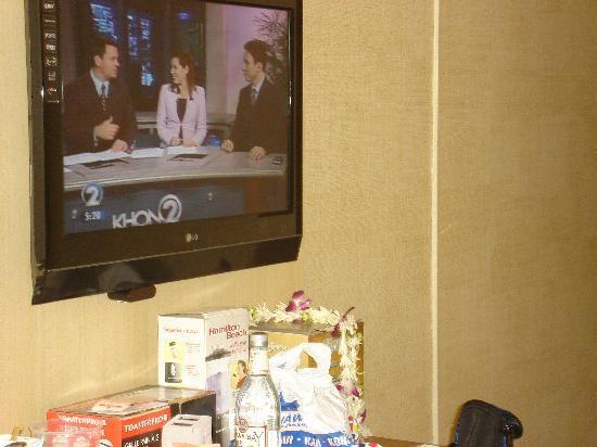 Waikiki Resort Hotel : nice tv