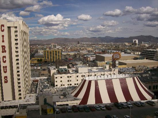Circus Circus Reno: view from 17th. south tower