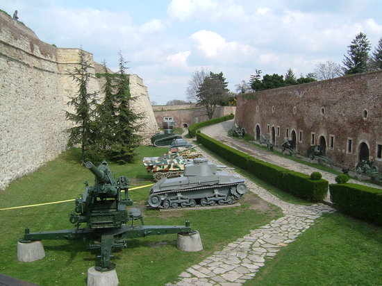 Belgrade, Serbia: Kalmegdan military museum