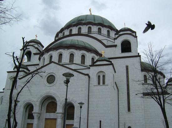 Belgrade, Sırbistan: St Sava's