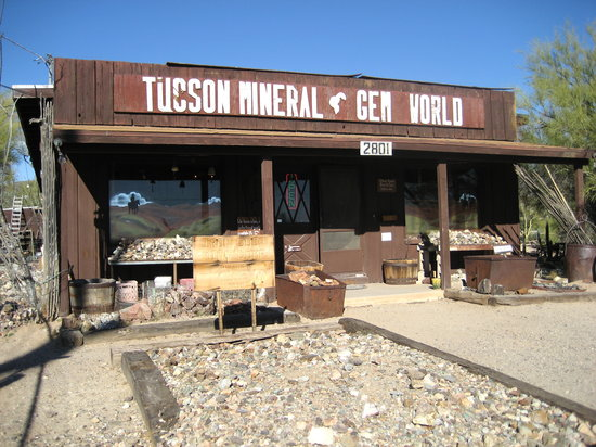 ‪Tucson Mineral and Gem World‬