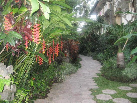 Hotel Kumala Pantai: the garden walk-ways