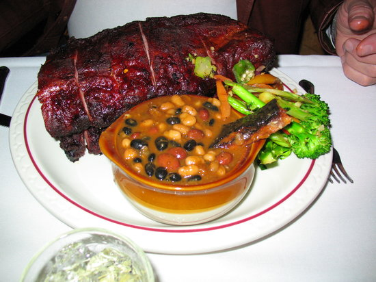 Knotty Pine: Full Rack of Ribs