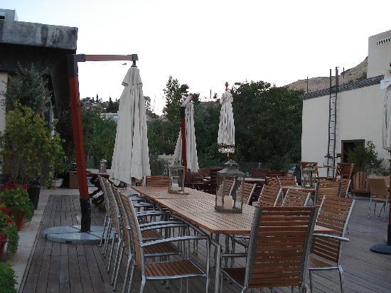 Art House Damascus: Roof Terrace