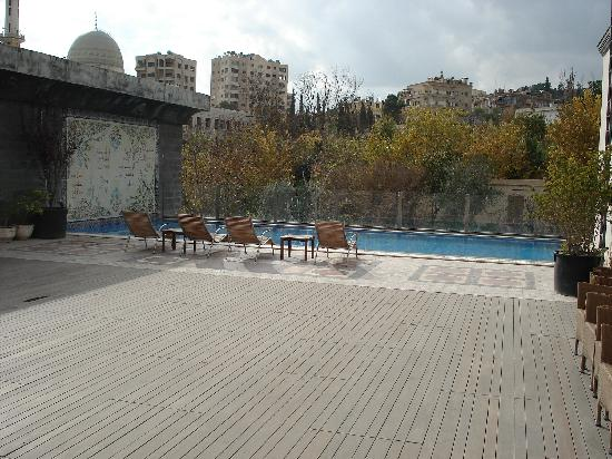 Art House Damascus: Outdoor Swimmingpool