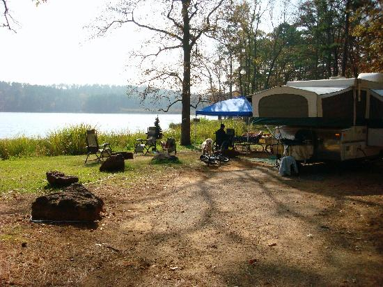 Tyler, Teksas: lakeview campsites