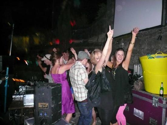 Trinity Rooms: Stage Invasion!! ha