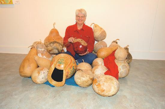 Kerr Arts & Cultural Center Inc.: Gourd Exhibit at KACC