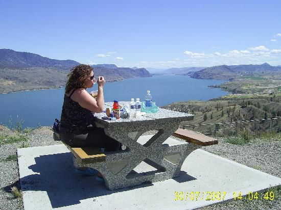 The Thompson Hotel and Conference Centre: A picnic area on the way out of Kamloops to  Whistler