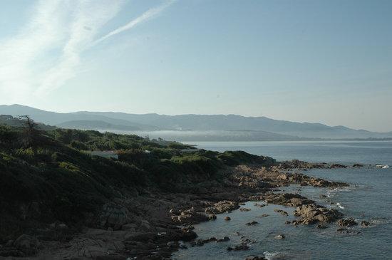 Porticcio, France: vue de la chambre supérieure