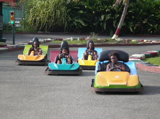 Kool Runnings Water Park: The Kool Go carts are great