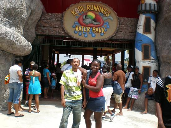 Kool Runnings Water Park: The Front of The venue