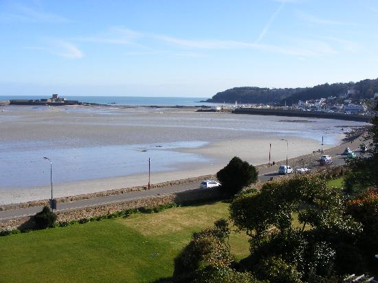 Сент-Обин, UK: View from the Honeymoon Suite - St Aubin
