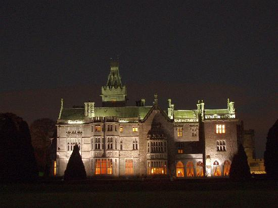 Adare Manor at night