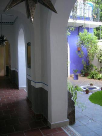 Hotel Julamis: Pasillo