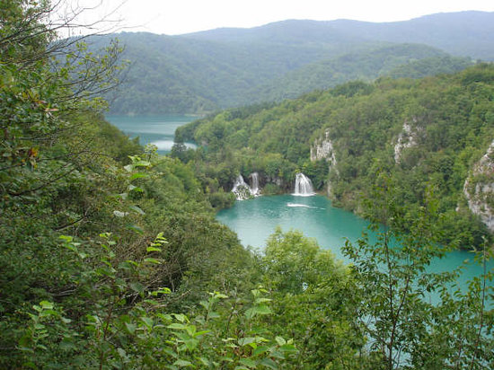 Parc national des lacs de Plitvice, Croatie : The lakes..