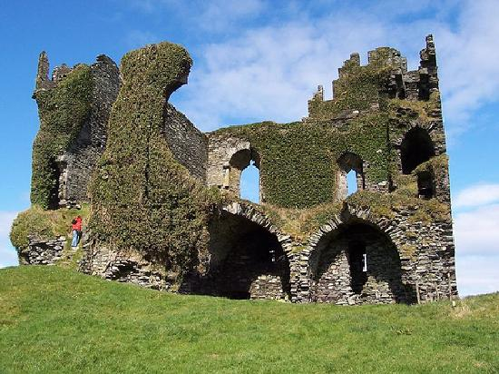 Irland: One of the many many castles you find driving around Ireland