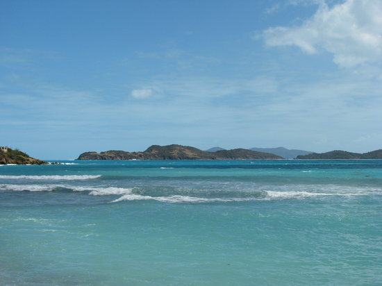 East End, St. Thomas: Can you find more shades of blues?