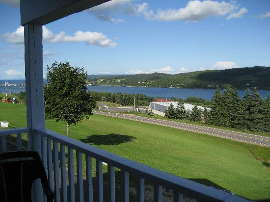 The Iona Heights Inn: The view from our balcony.