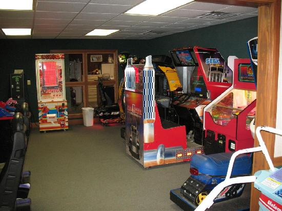 Wyndham Resort at Fairfield Sapphire Valley: Arcade Area