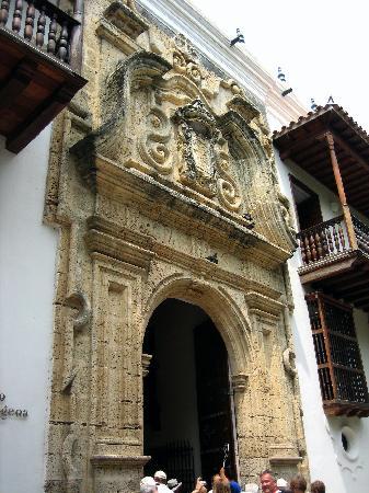 Museo Historico de Cartagena de Indias : Outside the building