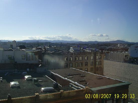 Best Western Plus Carlton Plaza Hotel: View from window