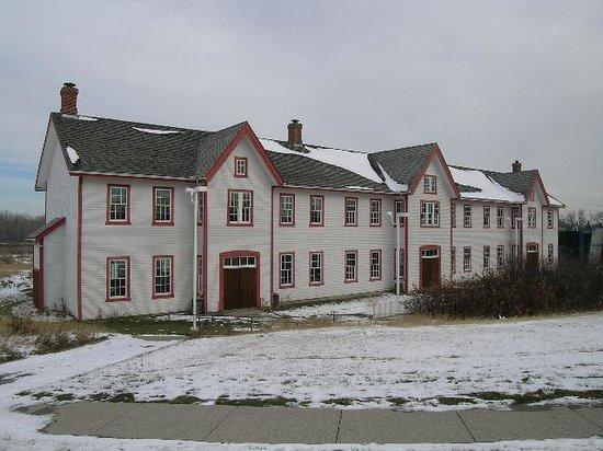 Fort Calgary in winter